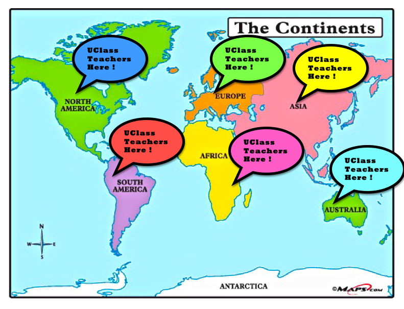 World Map For Kids Continent Map Of Map Of The World For Kids - Continents map for kids