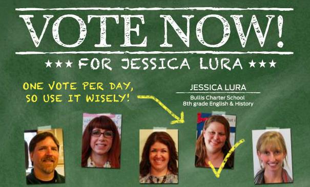 VOTE Jessica Lura!