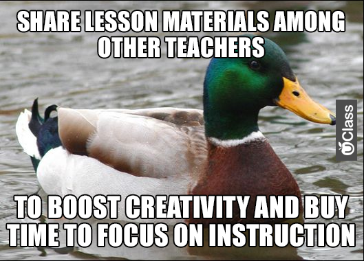 Sharing Materials Meme