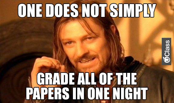 Grading Papers Meme