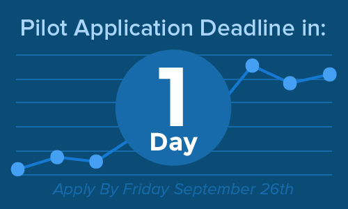 Application Deadline is August 26!