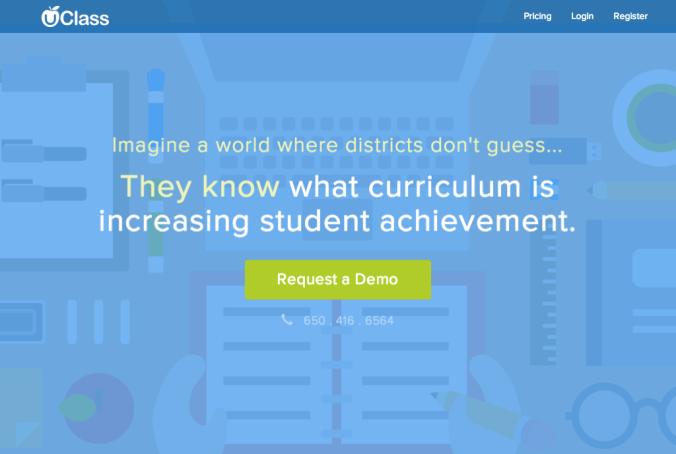 New UClass Homepage
