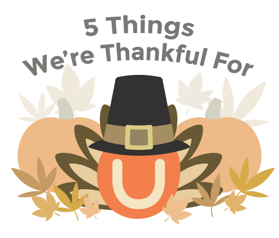 5 Things UClass is Thankful For