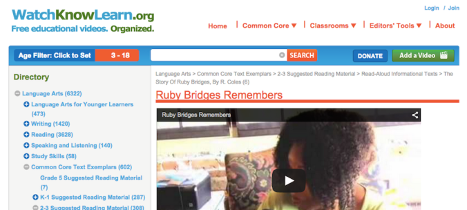 Ruby Bridges Remembers