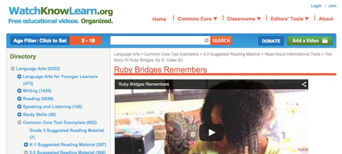 Ruby Bridges Remembers